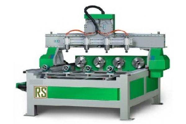 Токарно фрезерный станок с ЧПУ RJ 1515-4 2.2 кВт (вод.охл)