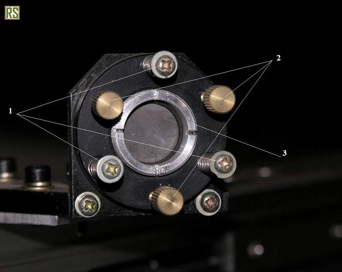 Настройка движения лазерного луча и его регулировка