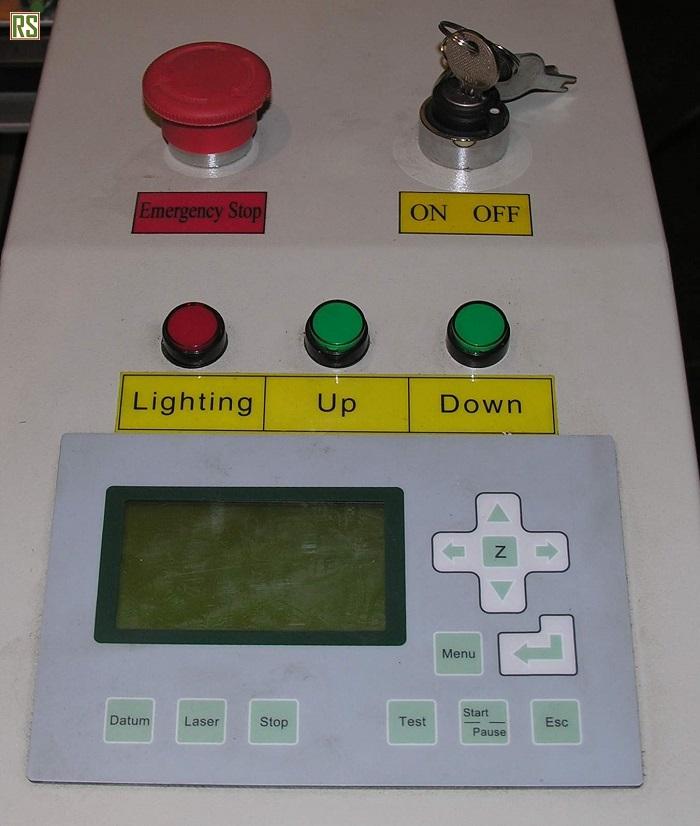 Пульт управления лазерного гравировального станка