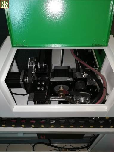 шаговый двигатель через ременную передачу
