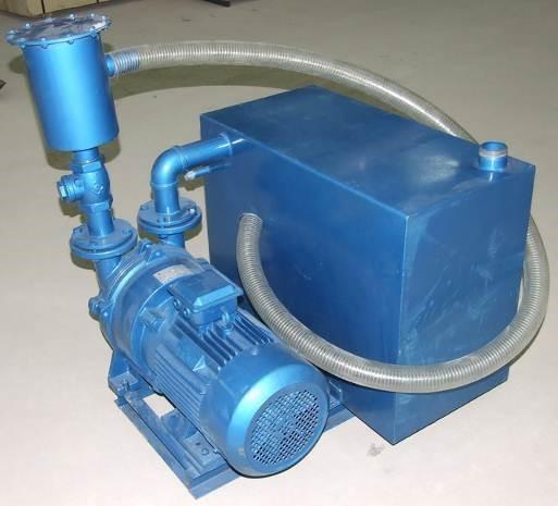 водоциркуляционным вакуумный насос 5,5 кВт.