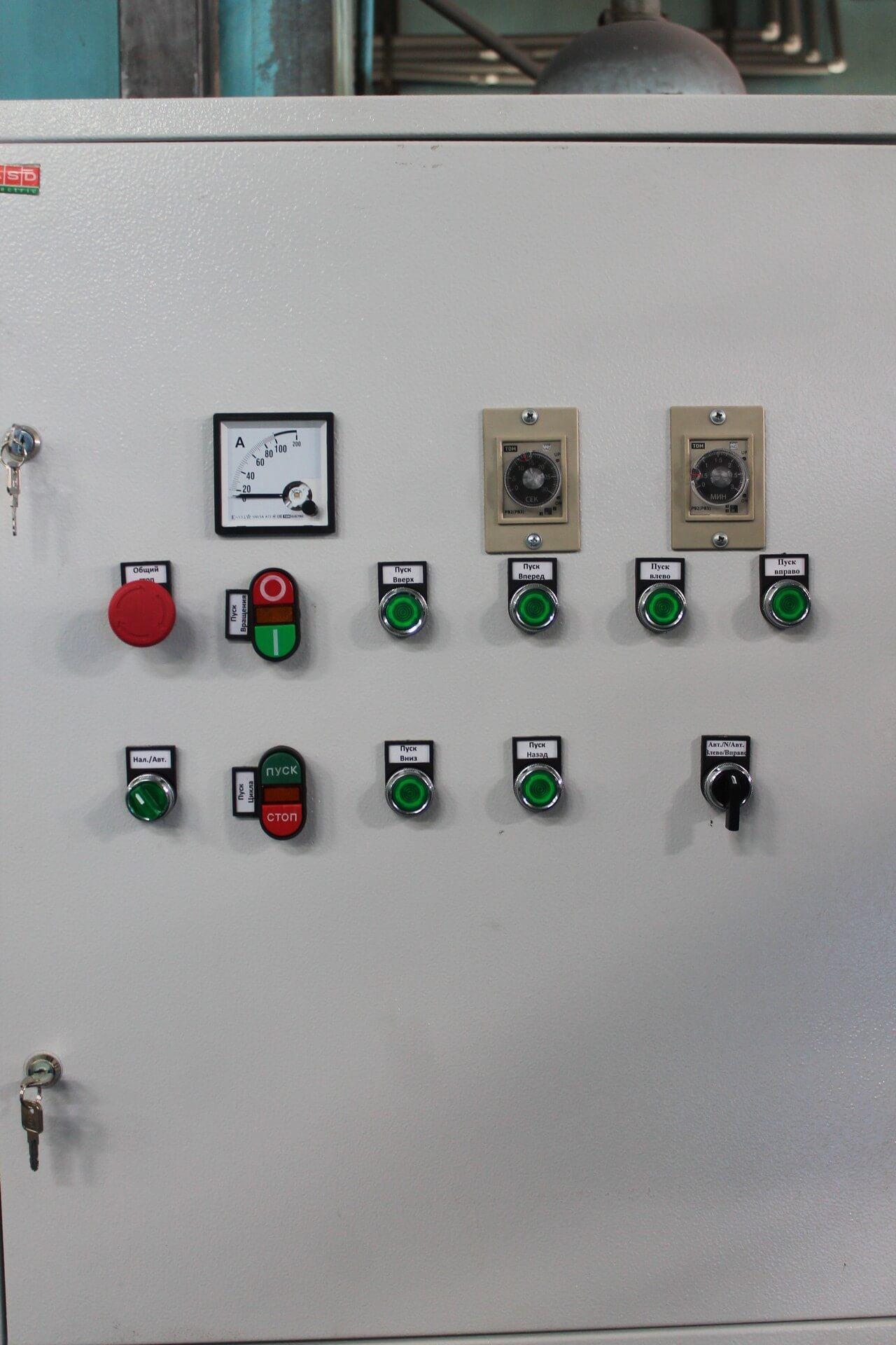 Отдельно стоящий электро шкаф