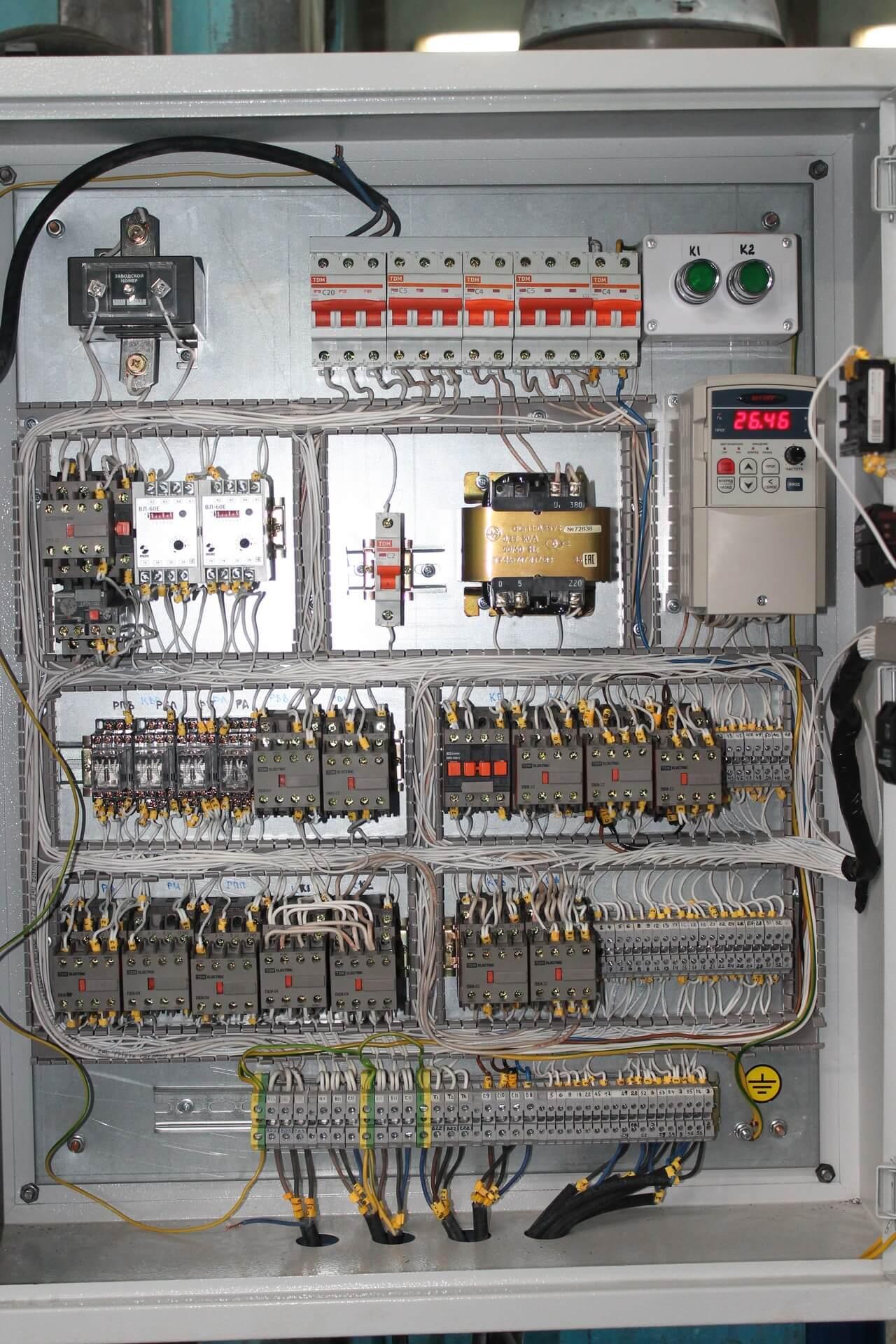 система управления станком